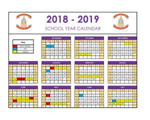 academics calendar